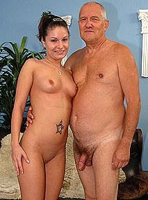 GrandpasFuckTeens Old man casting